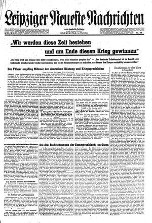 Leipziger neueste Nachrichten und Handelszeitung  vom 06.07.1944