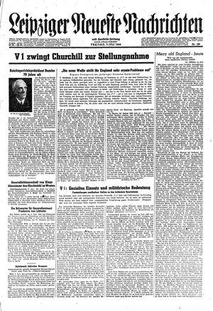 Leipziger neueste Nachrichten und Handelszeitung  vom 07.07.1944
