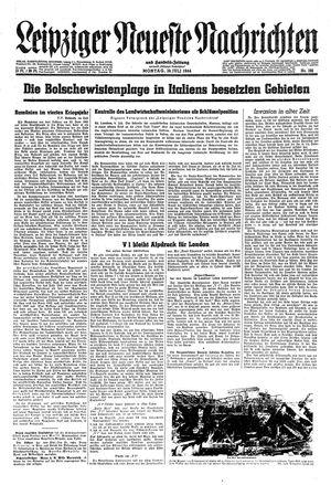 Leipziger neueste Nachrichten und Handelszeitung  vom 10.07.1944