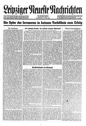 Leipziger neueste Nachrichten und Handelszeitung  vom 11.07.1944