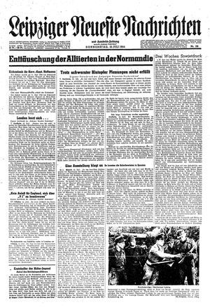 Leipziger neueste Nachrichten und Handelszeitung  vom 13.07.1944