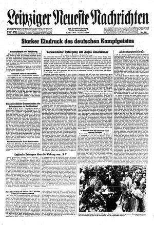 Leipziger neueste Nachrichten und Handelszeitung  vom 14.07.1944