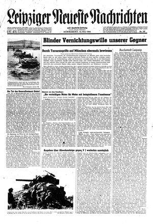 Leipziger neueste Nachrichten und Handelszeitung  vom 15.07.1944