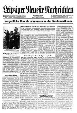Leipziger neueste Nachrichten und Handelszeitung  vom 16.07.1944