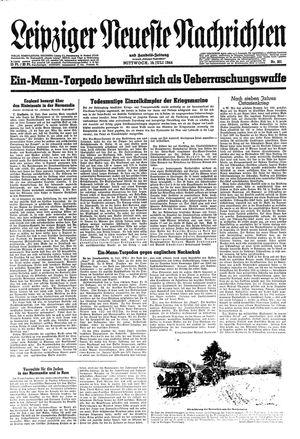 Leipziger neueste Nachrichten und Handelszeitung  vom 19.07.1944