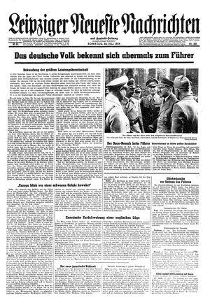 Leipziger neueste Nachrichten und Handelszeitung  vom 23.07.1944