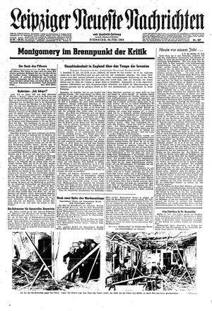 Leipziger neueste Nachrichten und Handelszeitung  vom 25.07.1944