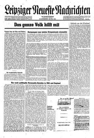 Leipziger neueste Nachrichten und Handelszeitung  on Jul 29, 1944