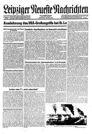 Leipziger neueste Nachrichten und Handelszeitung  vom 30.07.1944