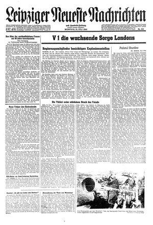 Leipziger neueste Nachrichten und Handelszeitung  vom 31.07.1944