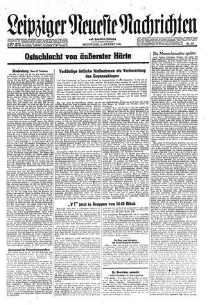 Leipziger neueste Nachrichten und Handelszeitung  vom 02.08.1944