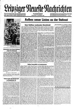 Leipziger neueste Nachrichten und Handelszeitung  vom 04.08.1944