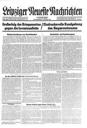 Leipziger neueste Nachrichten und Handelszeitung  vom 05.08.1944