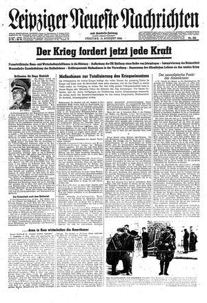 Leipziger neueste Nachrichten und Handelszeitung  vom 11.08.1944