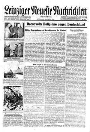 Leipziger neueste Nachrichten und Handelszeitung  on Aug 23, 1944