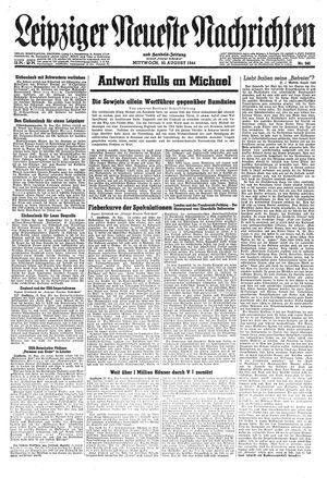 Leipziger neueste Nachrichten und Handelszeitung  vom 30.08.1944