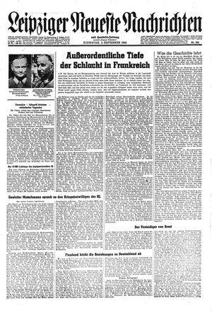 Leipziger neueste Nachrichten und Handelszeitung  on Sep 5, 1944