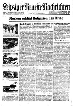 Leipziger neueste Nachrichten und Handelszeitung  vom 07.09.1944