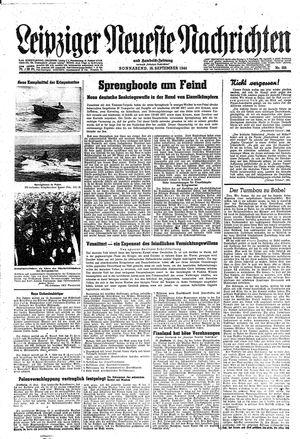 Leipziger neueste Nachrichten und Handelszeitung  vom 16.09.1944