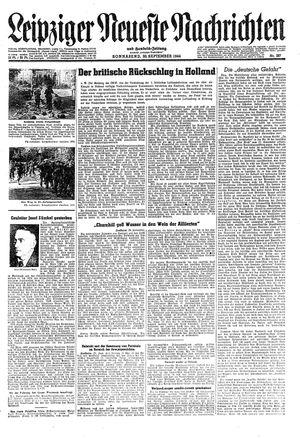Leipziger neueste Nachrichten und Handelszeitung  vom 30.09.1944