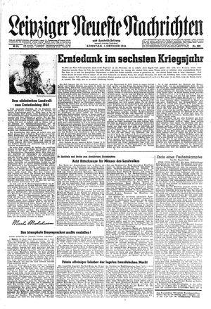 Leipziger neueste Nachrichten und Handelszeitung  on Oct 1, 1944