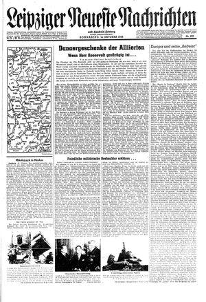 Leipziger neueste Nachrichten und Handelszeitung  vom 14.10.1944