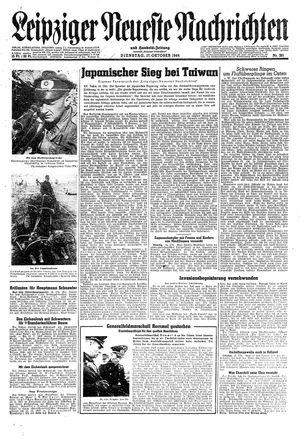 Leipziger neueste Nachrichten und Handelszeitung  vom 17.10.1944