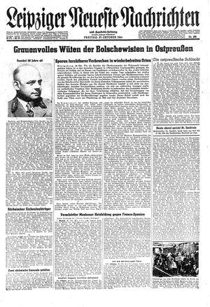 Leipziger neueste Nachrichten und Handelszeitung  vom 27.10.1944