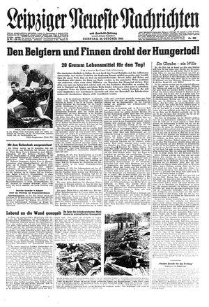 Leipziger neueste Nachrichten und Handelszeitung  on Oct 29, 1944