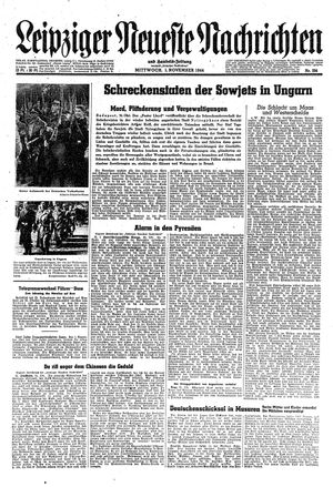 Leipziger neueste Nachrichten und Handelszeitung  vom 01.11.1944