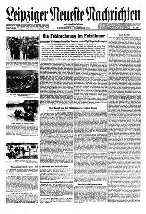 Leipziger neueste Nachrichten und Handelszeitung  vom 04.11.1944