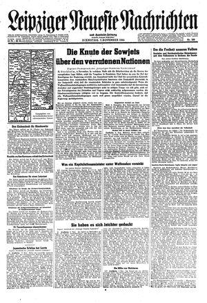 Leipziger neueste Nachrichten und Handelszeitung  vom 07.11.1944