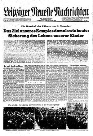 Leipziger neueste Nachrichten und Handelszeitung  on Nov 14, 1944