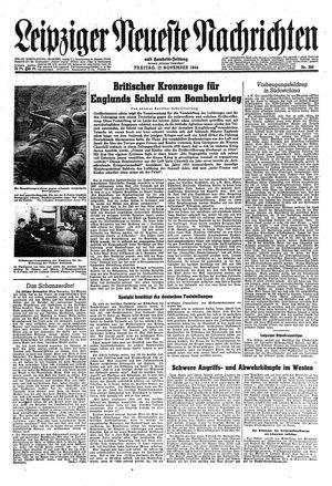 Leipziger neueste Nachrichten und Handelszeitung  vom 17.11.1944