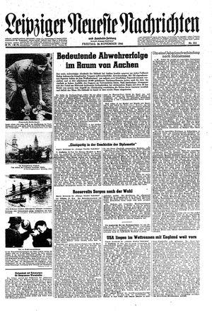 Leipziger neueste Nachrichten und Handelszeitung  on Nov 24, 1944