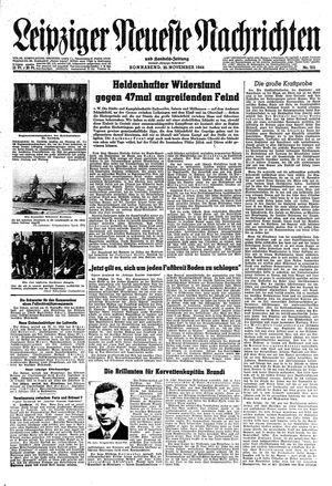 Leipziger neueste Nachrichten und Handelszeitung  vom 25.11.1944