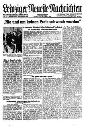 Leipziger neueste Nachrichten und Handelszeitung  on Nov 26, 1944