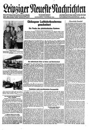 Leipziger neueste Nachrichten und Handelszeitung  on Dec 2, 1944
