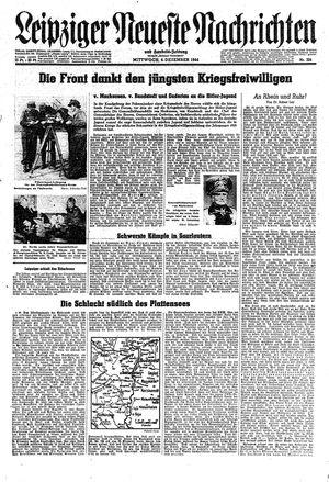 Leipziger neueste Nachrichten und Handelszeitung  vom 06.12.1944