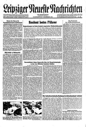 Leipziger neueste Nachrichten und Handelszeitung  vom 07.12.1944