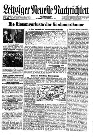 Leipziger neueste Nachrichten und Handelszeitung  vom 09.12.1944