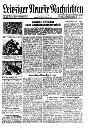 Leipziger neueste Nachrichten und Handelszeitung  vom 10.12.1944