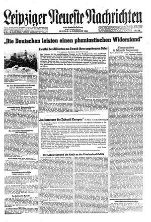 Leipziger neueste Nachrichten und Handelszeitung  on Dec 15, 1944