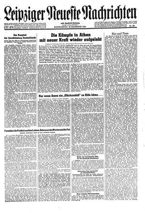 Leipziger neueste Nachrichten und Handelszeitung  on Dec 16, 1944
