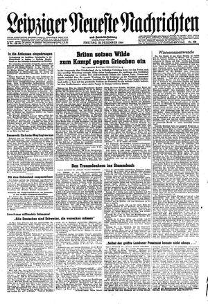 Leipziger neueste Nachrichten und Handelszeitung  vom 22.12.1944