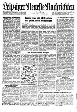 Leipziger neueste Nachrichten und Handelszeitung  vom 28.12.1944