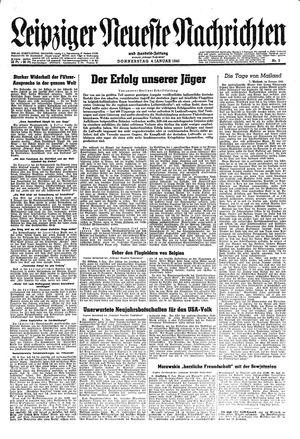Leipziger neueste Nachrichten und Handelszeitung  vom 04.01.1945