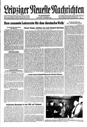 Leipziger neueste Nachrichten und Handelszeitung  vom 05.01.1945
