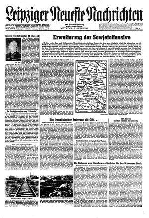 Leipziger neueste Nachrichten und Handelszeitung  on Jan 17, 1945