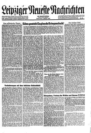 Leipziger neueste Nachrichten und Handelszeitung  on Mar 2, 1945